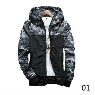 Camouflage Hoodies Casual Jacket