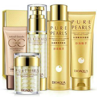 🚚 5Pcs BIOAQUA Pure Pearls Facial