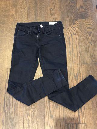 Rag&Bone navy skinny jeans