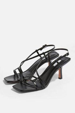 TOPSHOP Strippy Heel Sandals