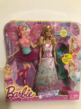 Barbie Doll fairytale dress up 18 + mix