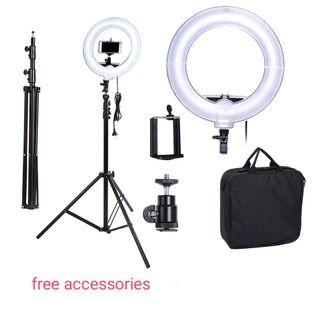 Camera Photo Video 13 inches Ring  Fluorescent  Light Lamp for Portrait,Photography,Video Shooting with
