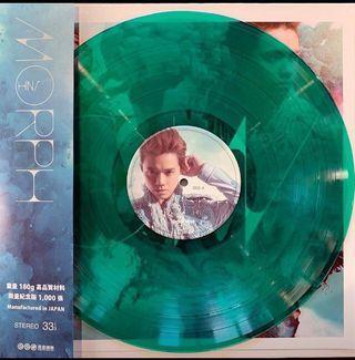 張敬軒 hins MORPH 綠色限量編號黑膠 LP