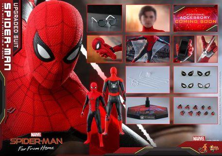 100% 全新 Hot Toys - MMS542 <<Spider-Man: Far From Home>> Spider-Man (Upgraded Suit) 29/6 VIP 訂單+$500