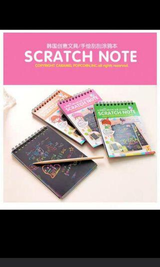 Scratchbook (Goodie Bags)