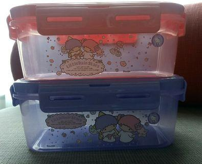 {Free NM} Little Twin Stars containers with smart lock