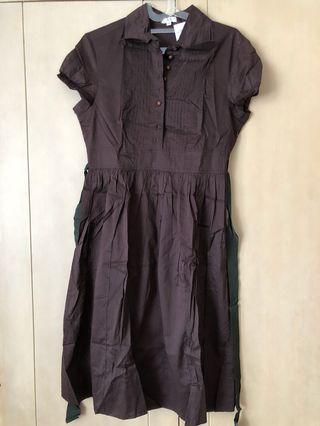 🚚 BN Brown Dress