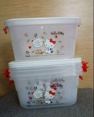 {Free NM} Hello Kitty containers