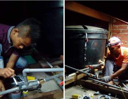 Tukang repair tangki air