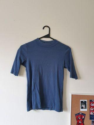 Uniqlo Blue Top