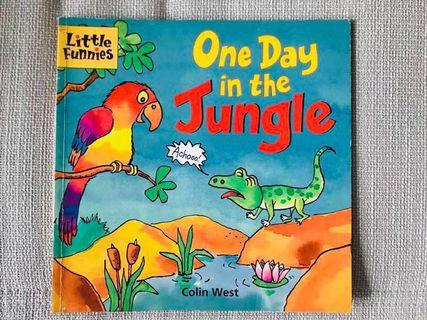 One Day In the Jungle reader book Colin West