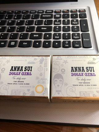anna sui dolly girl 2星期1pack 4pcs