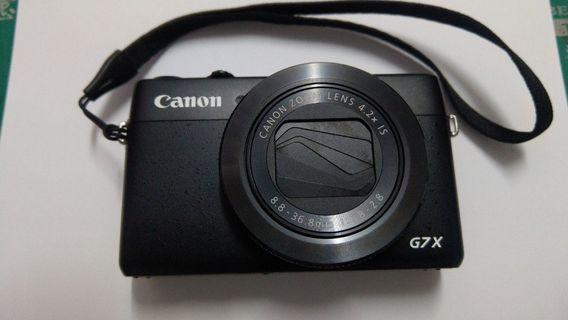 Canon G7X 1代類單 盒裝 2顆原廠電池 + 記憶卡