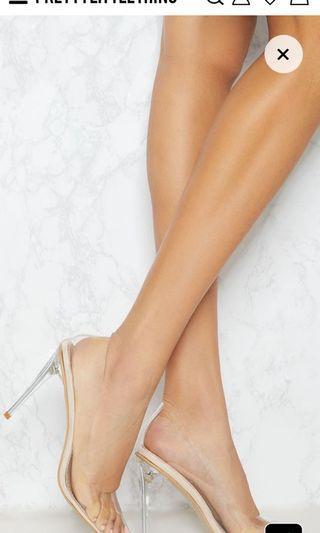 Brand New Pretty Little Thing Heels Size UK 7