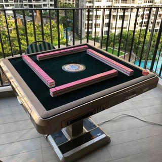 Automatic Fold Auto Mahjong Slim Table USB SG Mahjong