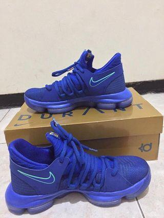 "Sepatu basket KDX ""The Bay Edition Chapter 1"" / KD10 GSW (VNDS/limited edition)"