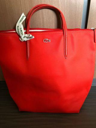 Lacoste Red Hand Bag