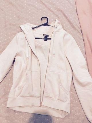 Pink Hoodie with Rose gold zippers