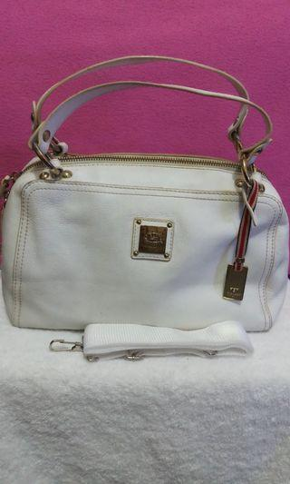 Toscano White Handbag