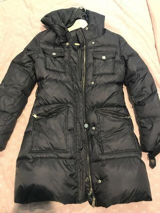 Max and Co 100% Duck Down Navy puffer jacket