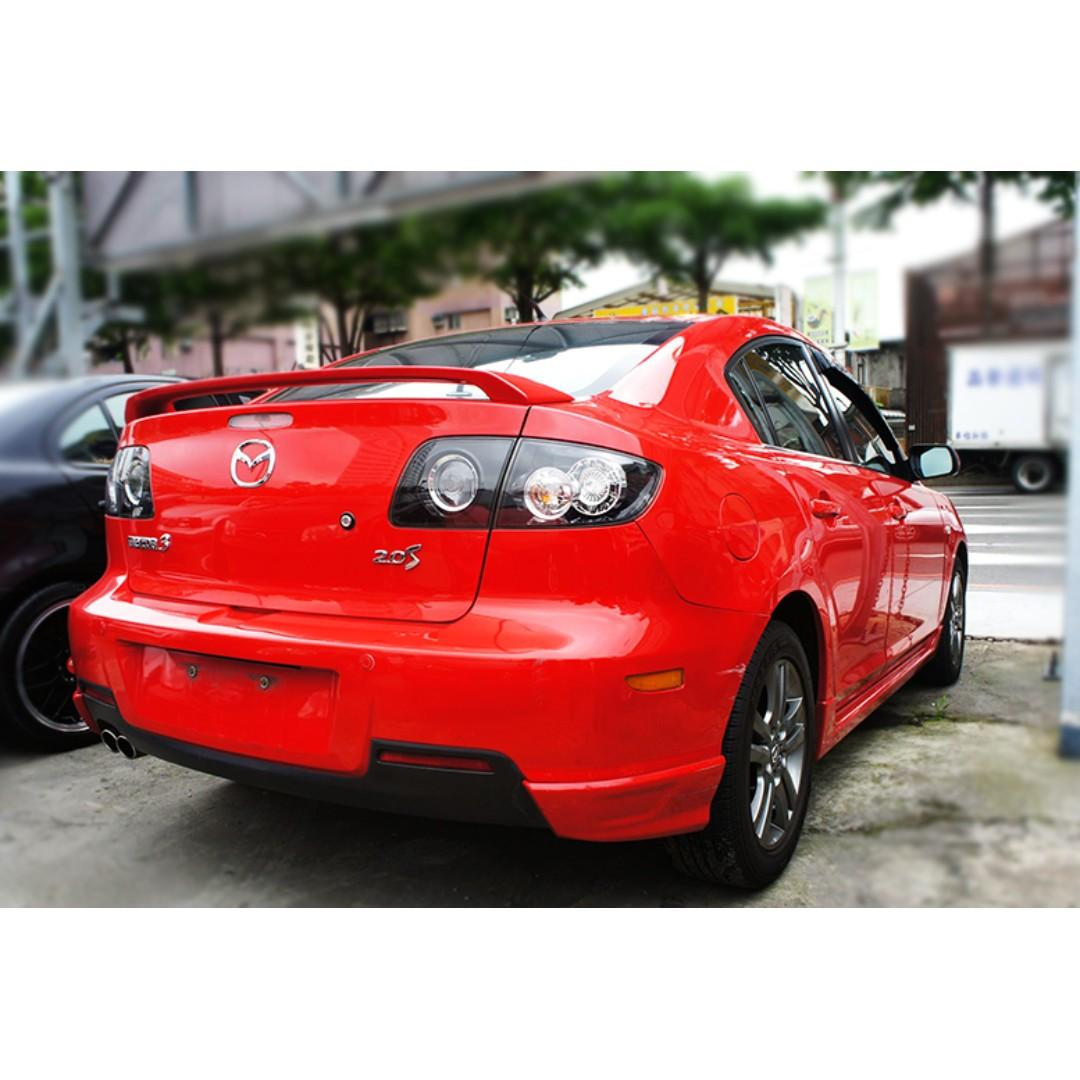 09年Mazda 3 2.0s 紅