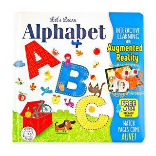 🚚 (PO) Let's Learn Alphabet ABCs - AR Interactive book