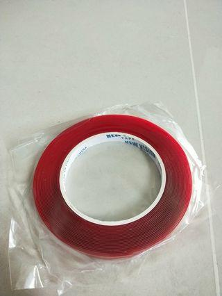 Acrylic transparent double sided tape