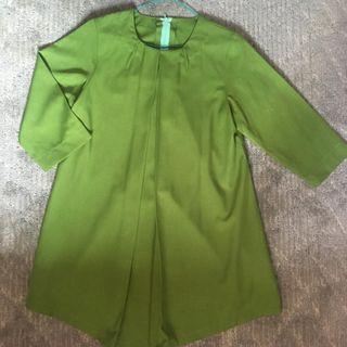 Blouse couple hijau
