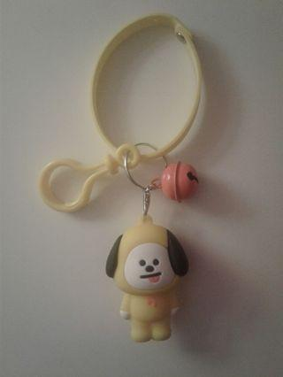 UNOFFICIAL BT21 CHIMMY KEYCHAIN