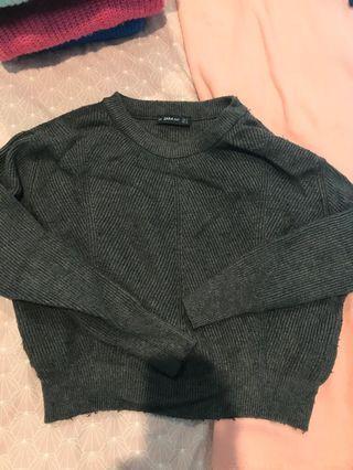 Zara grey knit