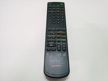 Remote Sony VCD CD LD Player