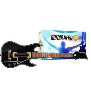 BRAND NEW IN BOX Nintendo WiiU Wii U Guitar Hero Live Guitar Controller Gaming Console