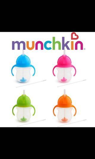 Straw cup munchkin 360 degree 207ml