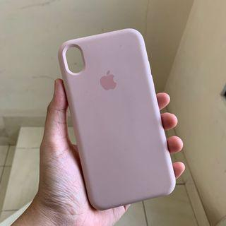 Case Apple Silicone iPhone XR - Pink Sand