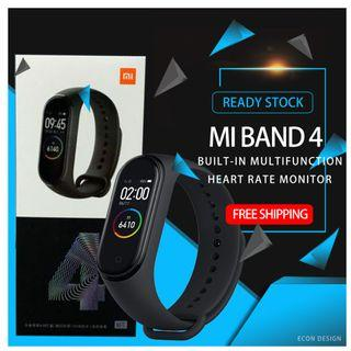 Xiaomi Mi Band 4 Smart Bracelet 0.95 Inch AMOLED Color Screen Multifunction Water Resistant-Black