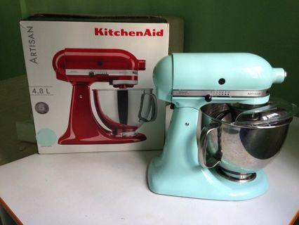 🚚 Kitchenaid mixer ice blue