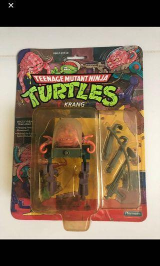 Playmates Teenage Mutant Ninja Turtle TMNT 1988 Krang Vintage