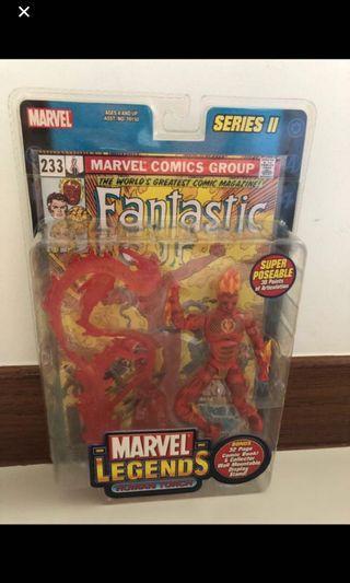 🚚 Toybiz Marvel Legend ML Human Torch Vintage