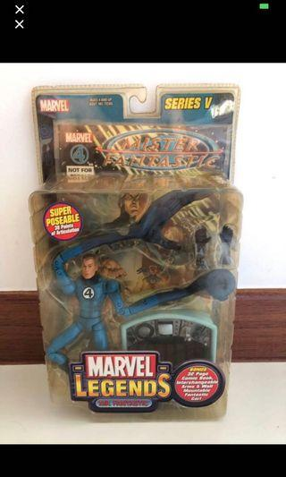 Toybiz Marvel Legend Mr Fantastic Vintage