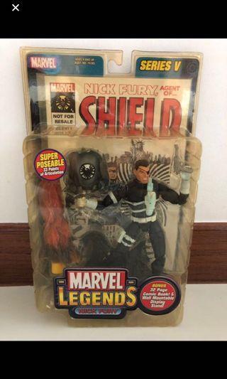 🚚 Toybiz Marvel Legend ML Nick Fury Vintage