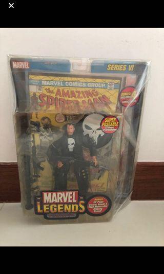 🚚 Toybiz Marvel Legend ML Punisher 4 Comics Pack Vintage