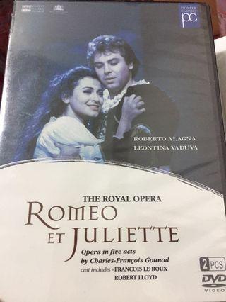 羅密歐與茱麗葉 歌劇DVD