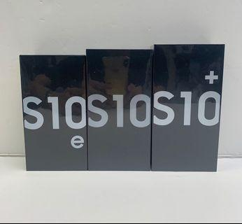 Samsung S10e S10 S10+ 128gb (Local Set)