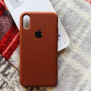 Original apple silicone Case iPhone X