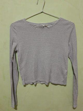 Long Stripe T-shirt H&M (HnM)