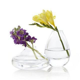 New Crate & Barrel Bud Vase / Small Flower Vase