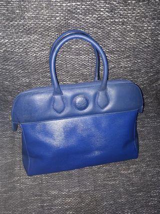 Italian hand bag leather