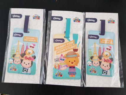 🚚 Kleenex / Disney Tsum Tsum Luggage Tag