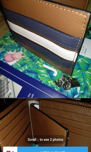 Authentic Coach Wallet with description tag from NYC for sale!