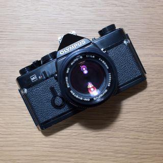 Olympus OM-1 Black 50mm F1.4 Lens Film SLR Camera